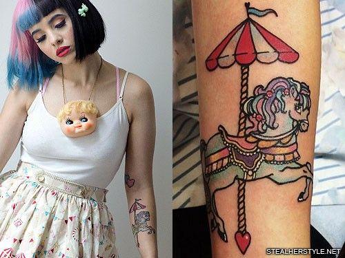 Melanie Martinez Carousel Tattoo Melanie Martinez Carousel Carousel Tattoo Cry Baby Tattoo