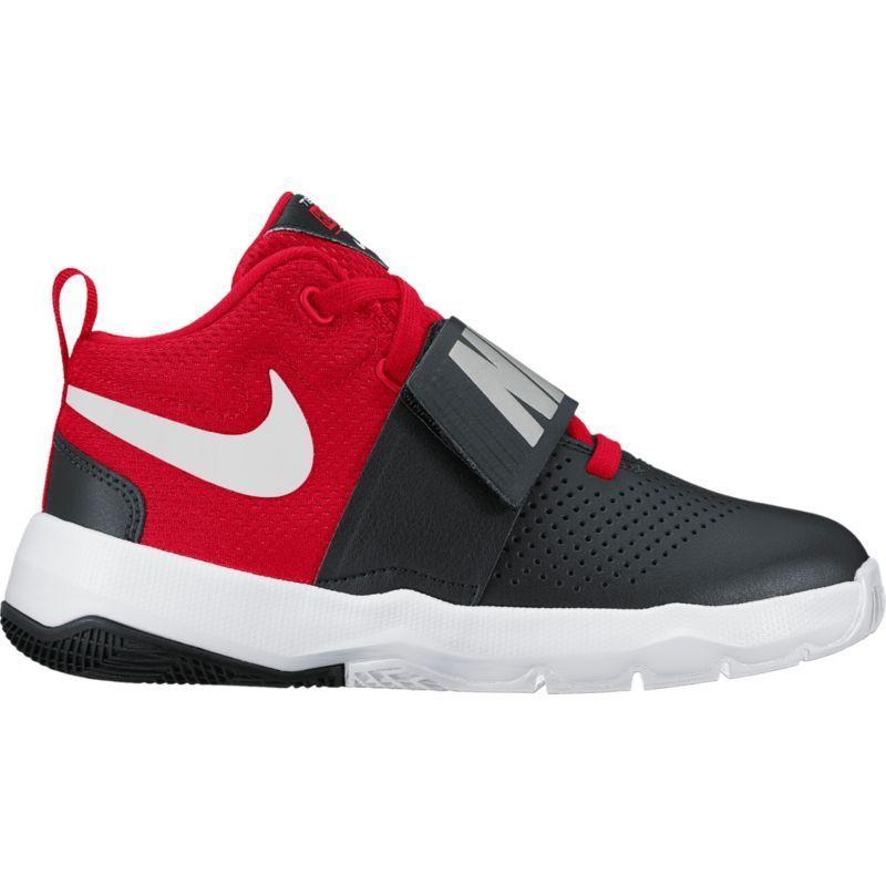 san francisco 2ac4a 690c8 Nike Kids  Grade School Team Hustle D 8 Basketball Shoes, Black