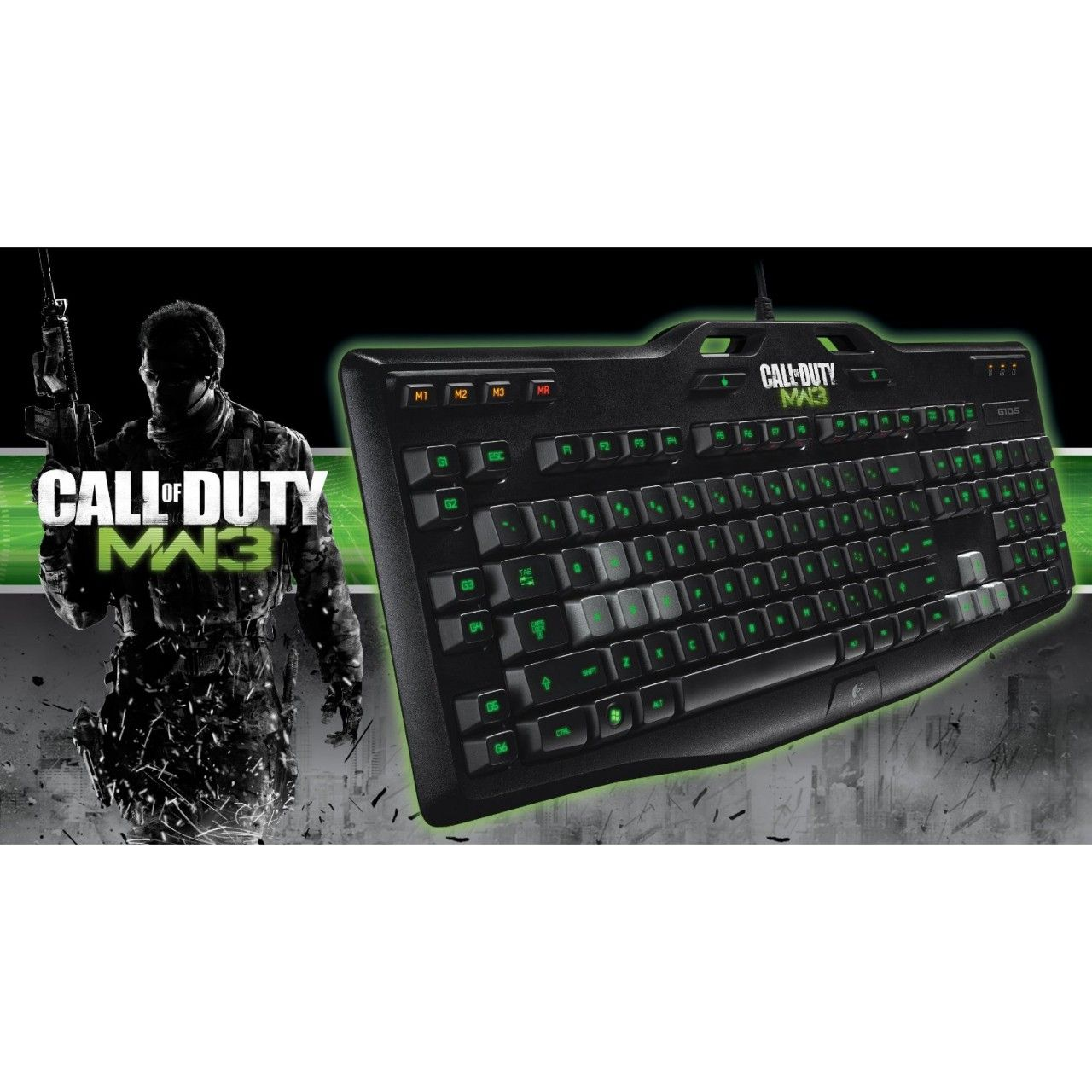 Logitech Gaming Keyboard G105: Made for Call of Duty