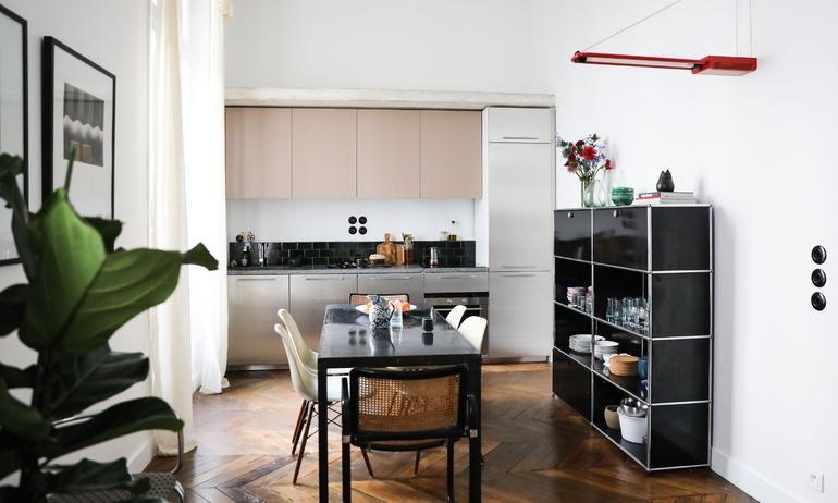 Cuisine Chaises Eames DSW Marcel Breuer Cesca Meuble USM Appartement
