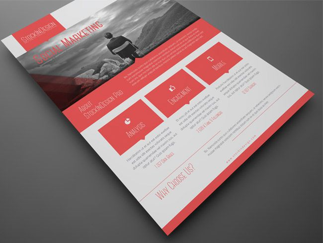 Corporate Flyer InDesign Templates | Graphic Design Inspiration ...