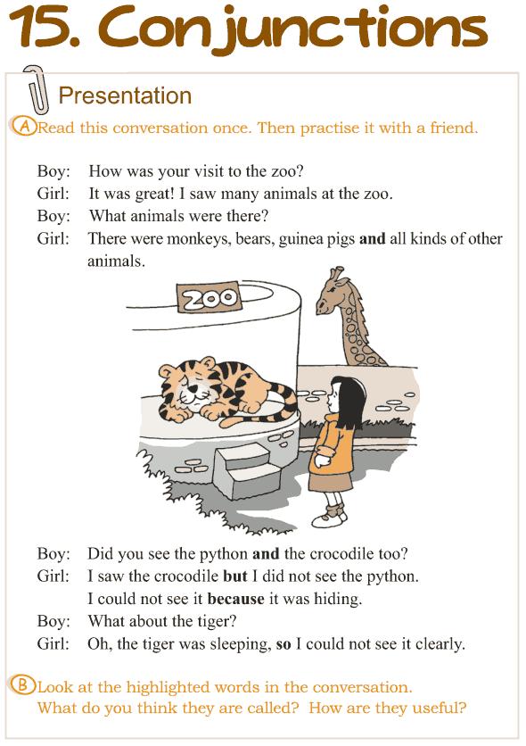 Conjunctions worksheets for grade 4 pdf