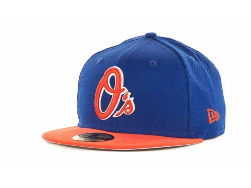 3e15cb0d3f1 Baltimore Orioles New Era MLB 2T Custom 59FIFTY Hats O s hat in Mets  colors. Or the Orioles 2013 all star hat
