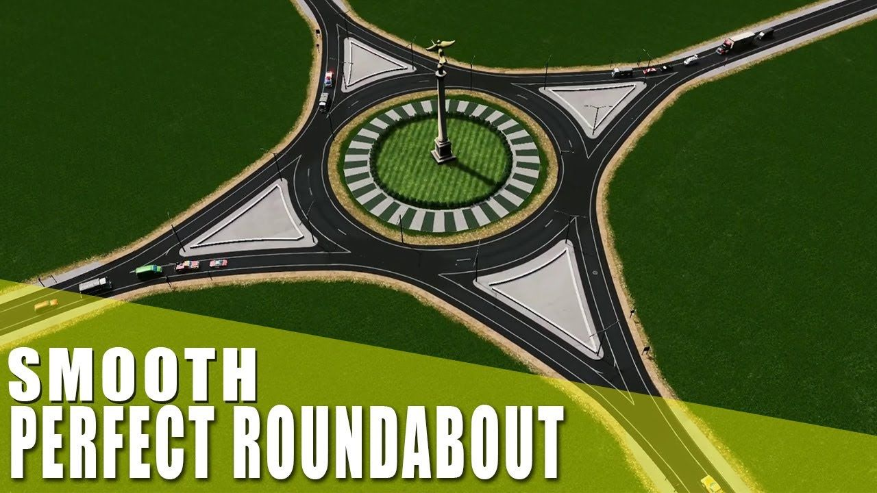 Pin By N O R A A U L D On Cities Skylines City Skyline City Skylines Game Roundabout