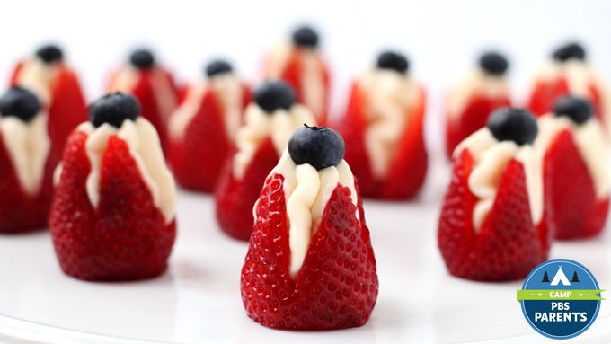 recipe: cheesecake stuffed strawberries pinterest [14]