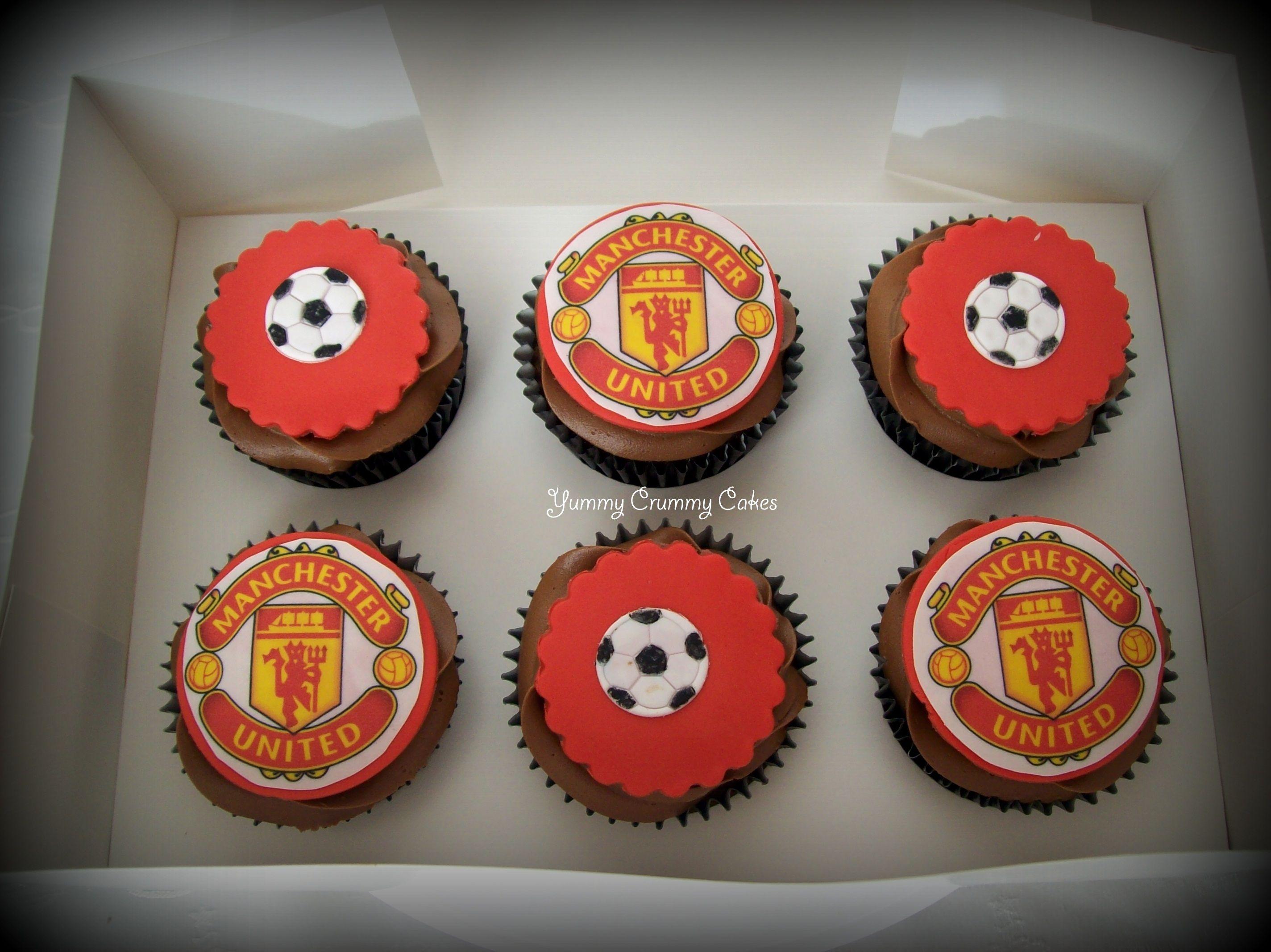 Yummy Crummy Cakes Soccer Birthday Cakes Manchester United Birthday Cake Soccer Birthday Parties