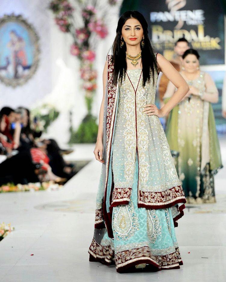 Pakistan langa style dress