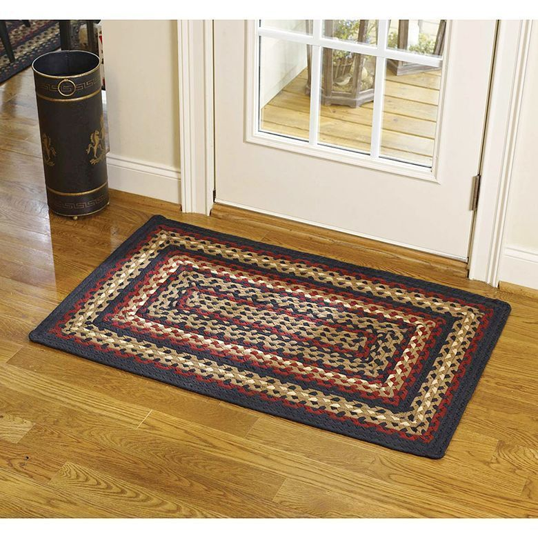 Our Folk Art Braided Rugs Will Be A Beautiful Addition To Your Home Created With The Traditional Country Decorating Color In 2020 Braided Rug Diy Braided Rugs Diy Rug