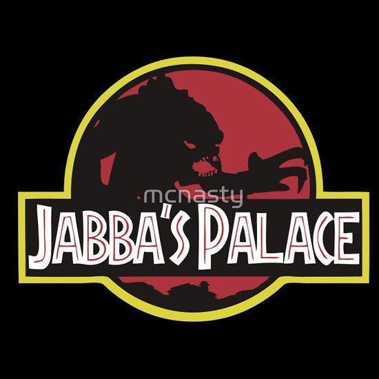 """Jabba's Jurassic Palace"" T-Shirts & Hoodies By Mcnasty"