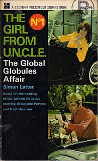 The Girl from U.N.C.L.E. - The Global Globules Affair, front cover.