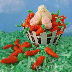 Ravenous rabbit cupcake
