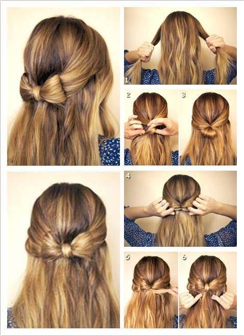 Betere How to do it | hair bow (met afbeeldingen) | Makkelijke haar HC-49