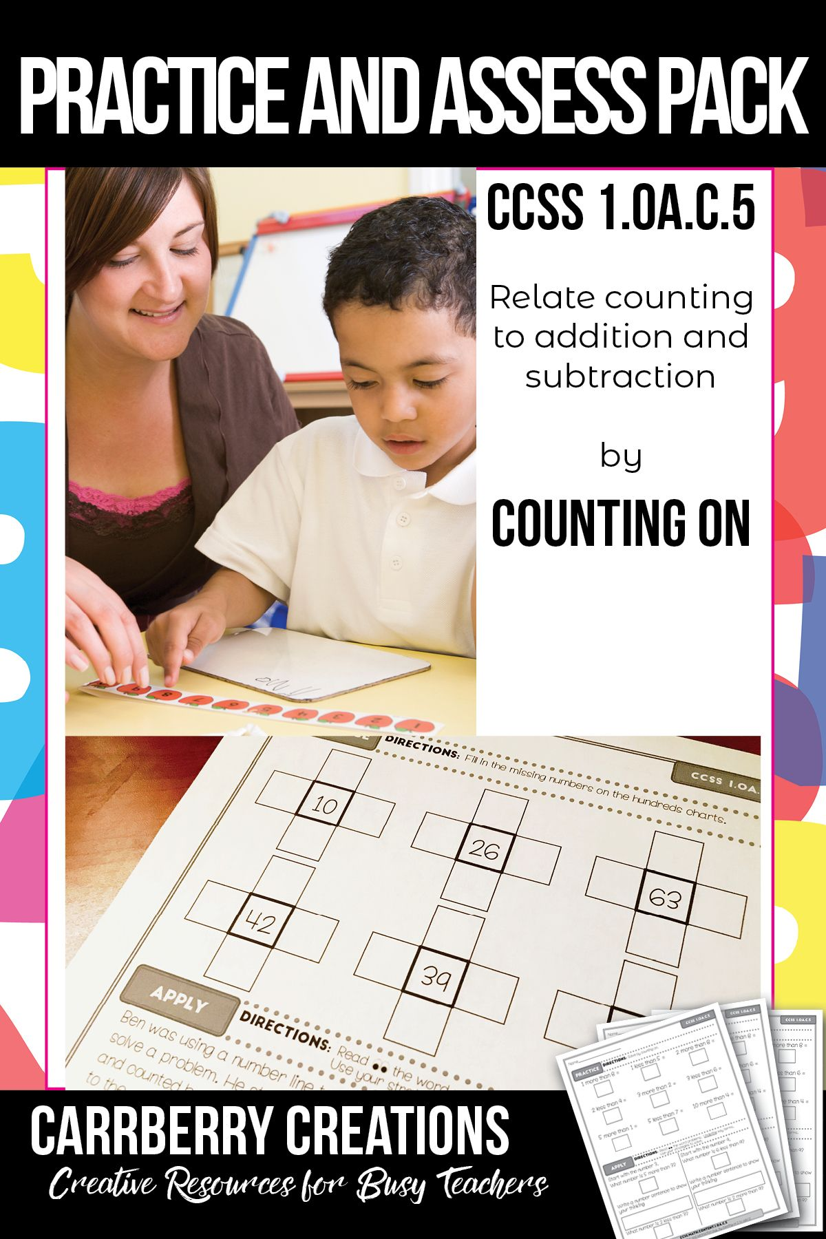 Counting On Practice And Assess Pack