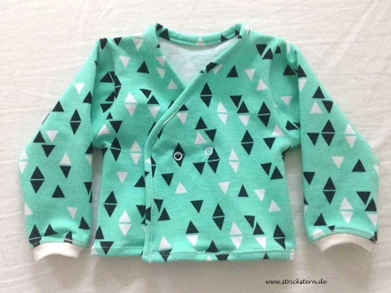 kostenloses Schnittmuster Baby Jacke, Freebook | Nähen | Pinterest ...