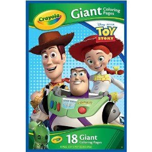 Crayola  Giant Coloring Pages Disney Toy Story  Amazoncom