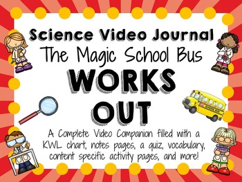 Magic School Bus Works Out Video Journal Magic School Bus Magic School Magic School Bus Videos