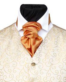 A Scrunchy Tie Is Por Type Of Wedding Neckwear Also Known As Scrunch Cravat Or Rouche