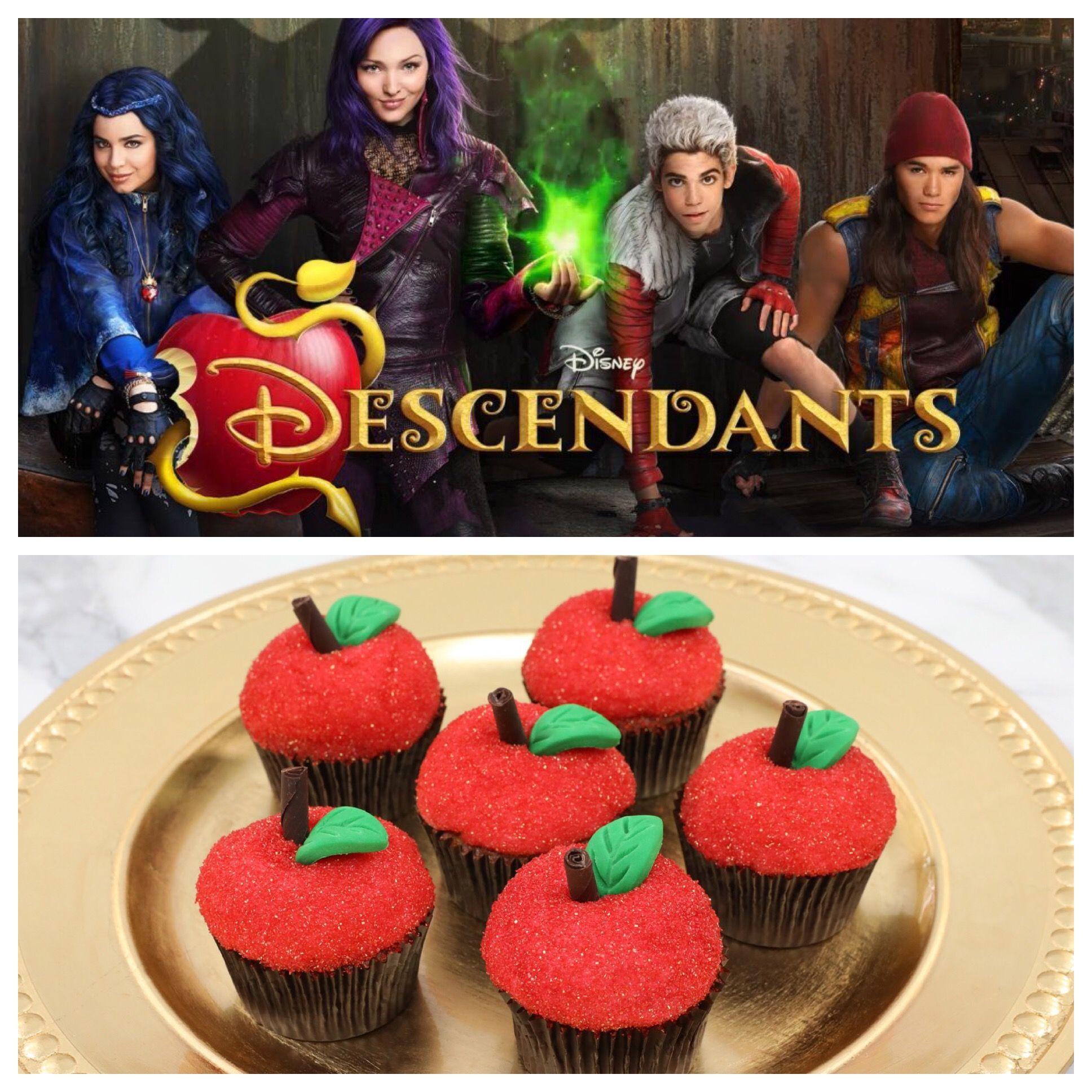 Descendants Apple Cupcakes Cooking Games For Kids Apple