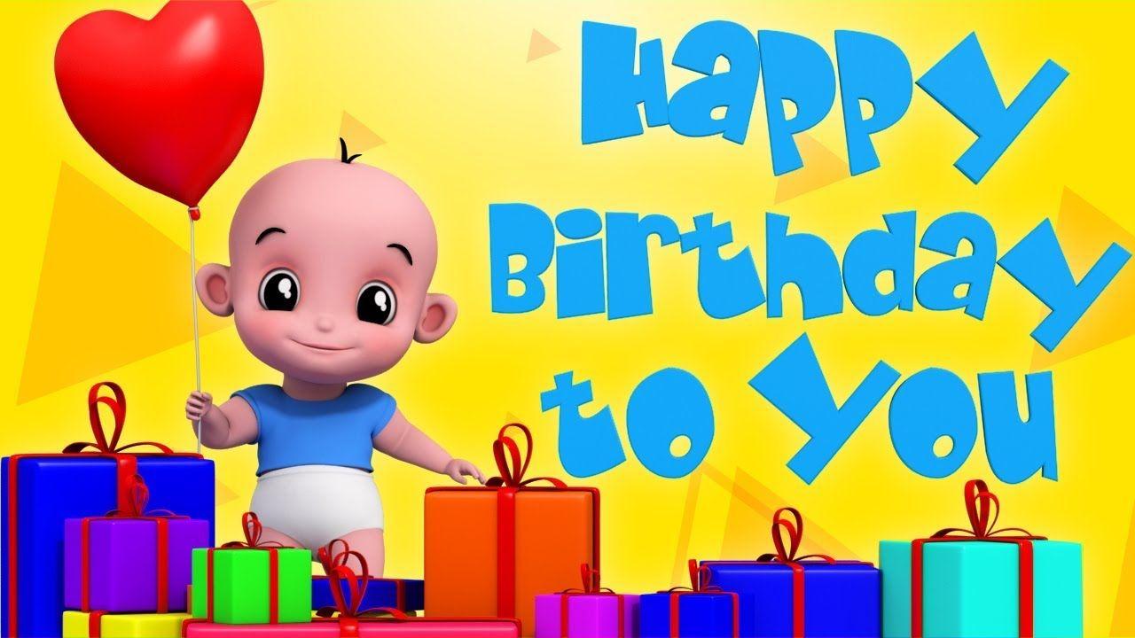 Happy Birthday Song Dance Song Nursery Rhymes Songs