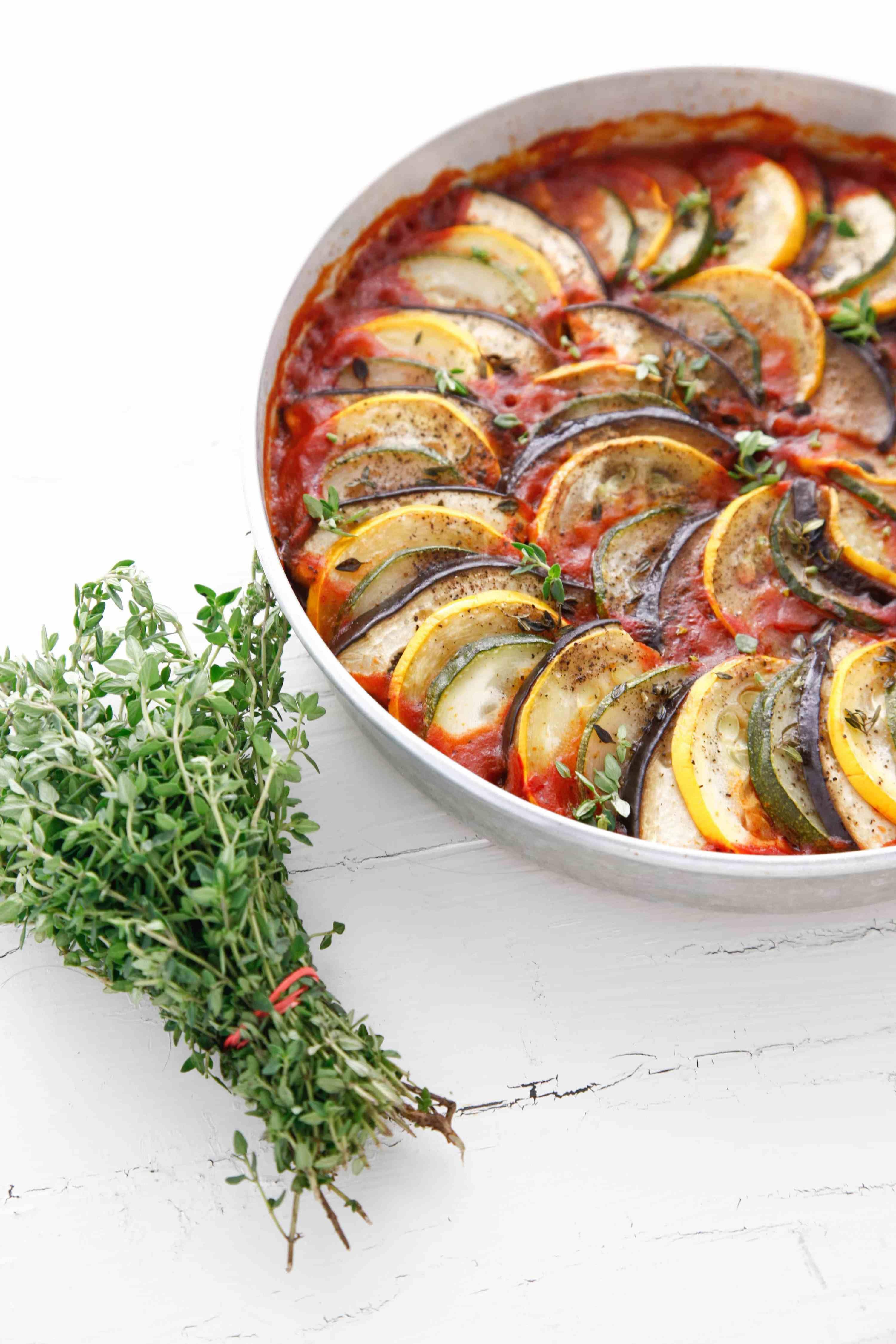 Layered ratatouille recipe veggie dishes side dish