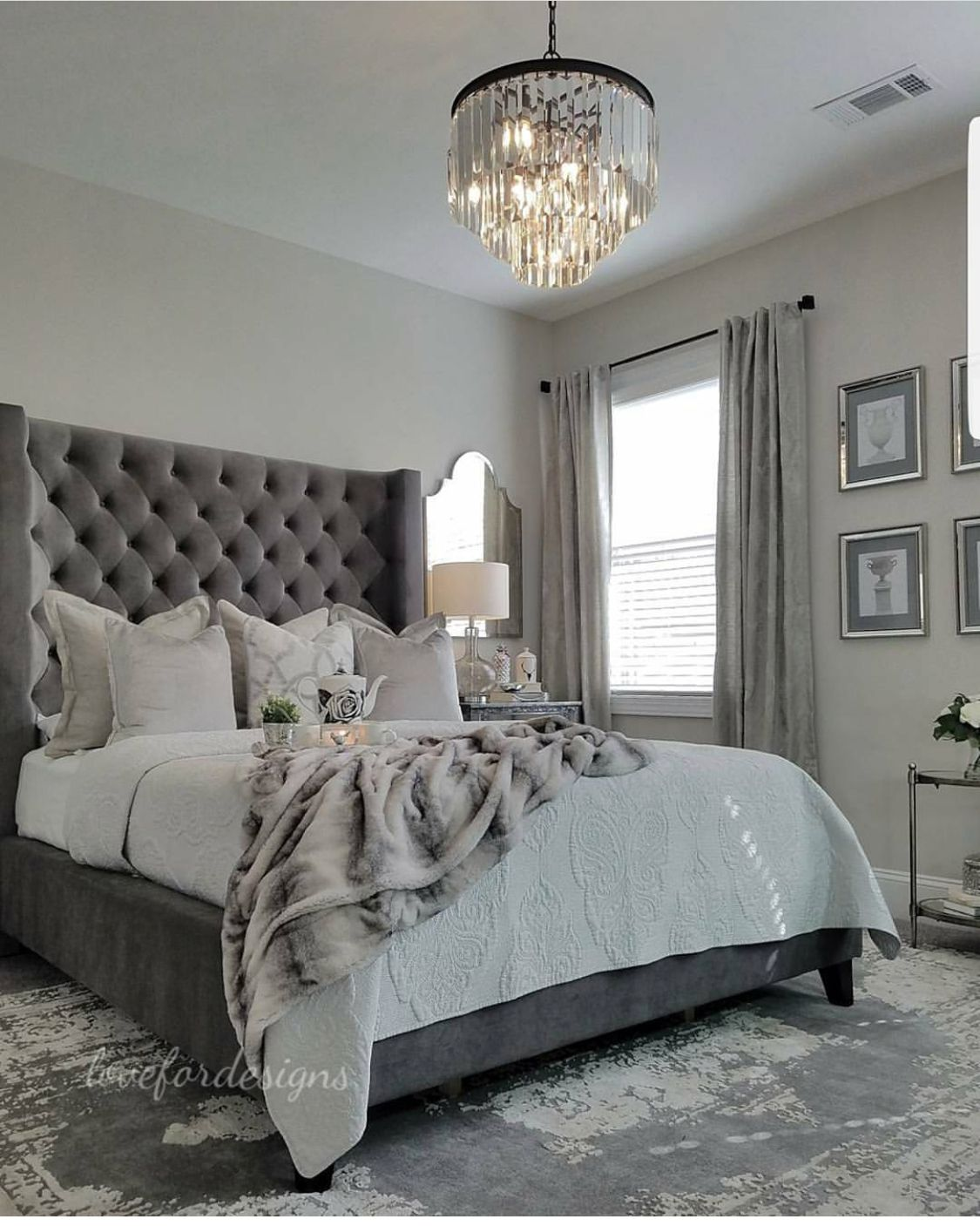 Wall Colour And Light Fitting Master Bedrooms Decor Home Decor Bedroom Luxurious Bedrooms