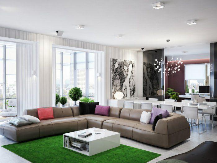 Raum Dekorieren Dekoration : 60 dekoideen für ihr großes zimmer wohnung gestalten dekorieren