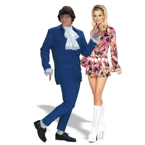Halloween Costumes For Couples Hollywood Halloween Costumes Austin Powers Costume Disco Costume
