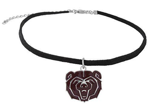 Suede Choker Necklace with Maroon Enamel Bears Logo Charm... https://www.amazon.com/dp/B01MZ2U3N9/ref=cm_sw_r_pi_dp_x_YE4JybBS588SA