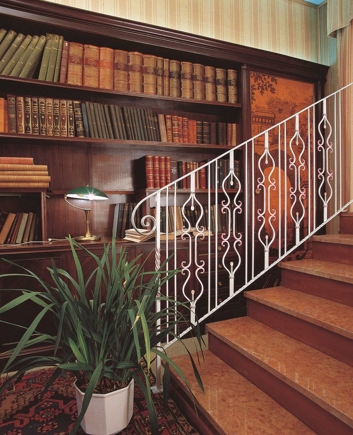 Marvelous Wrought Iron Railing, Newel, Posts, Caps And End Pieces. We Do It All.