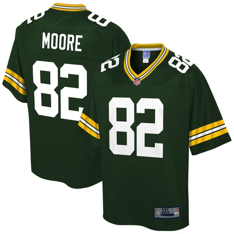 Cheap J'Mon Moore Green Bay Packers NFL Pro Line Big & Tall Player Jersey  for cheap