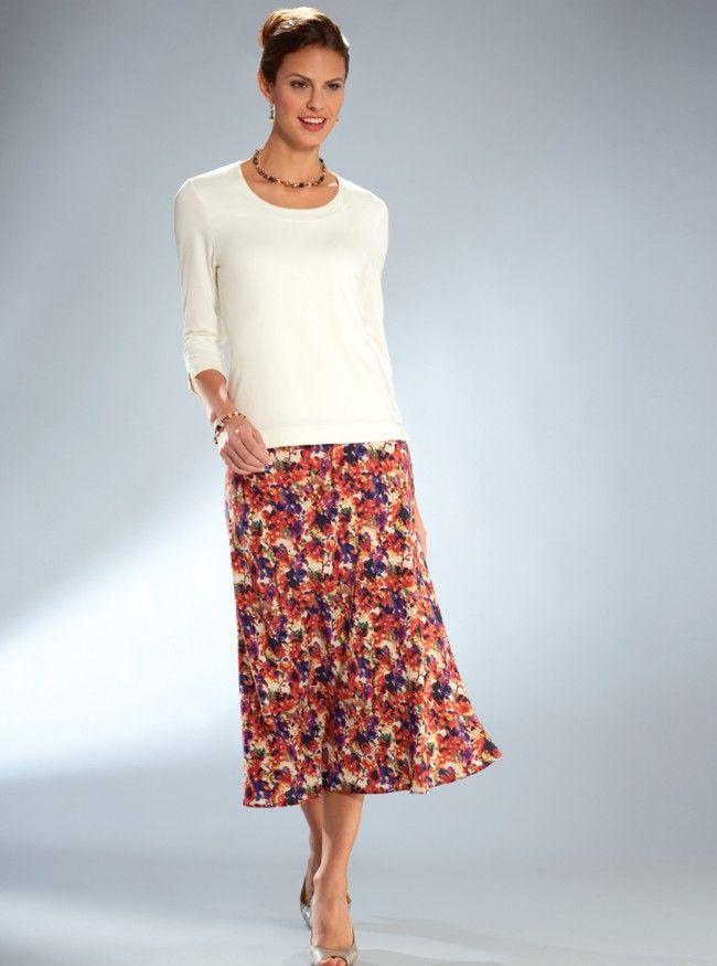 Luxury Silk Skirt by David Nieper davidnieper.co.uk
