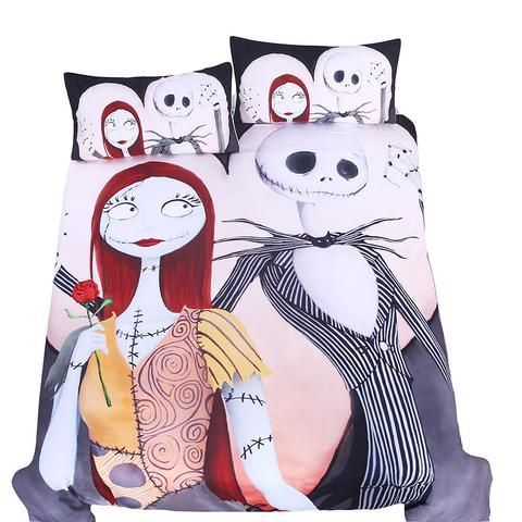 The Nightmare Before Christmas Bedding Set 04