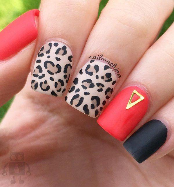 45 Multicolored Nail Art Ideas | !♥ Nail Designs Gallery