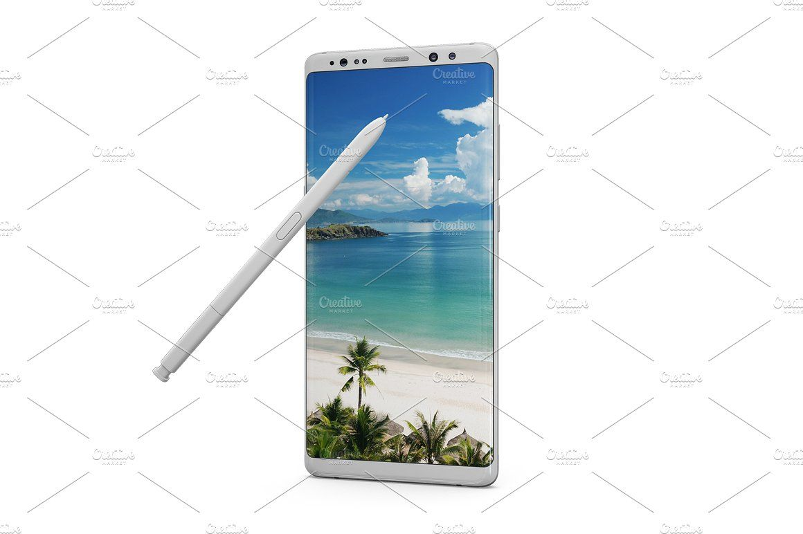 Samsung Galaxy Note 8 Mockup Environmental Graphics Personal Presentation Samsung Galaxy Note 8