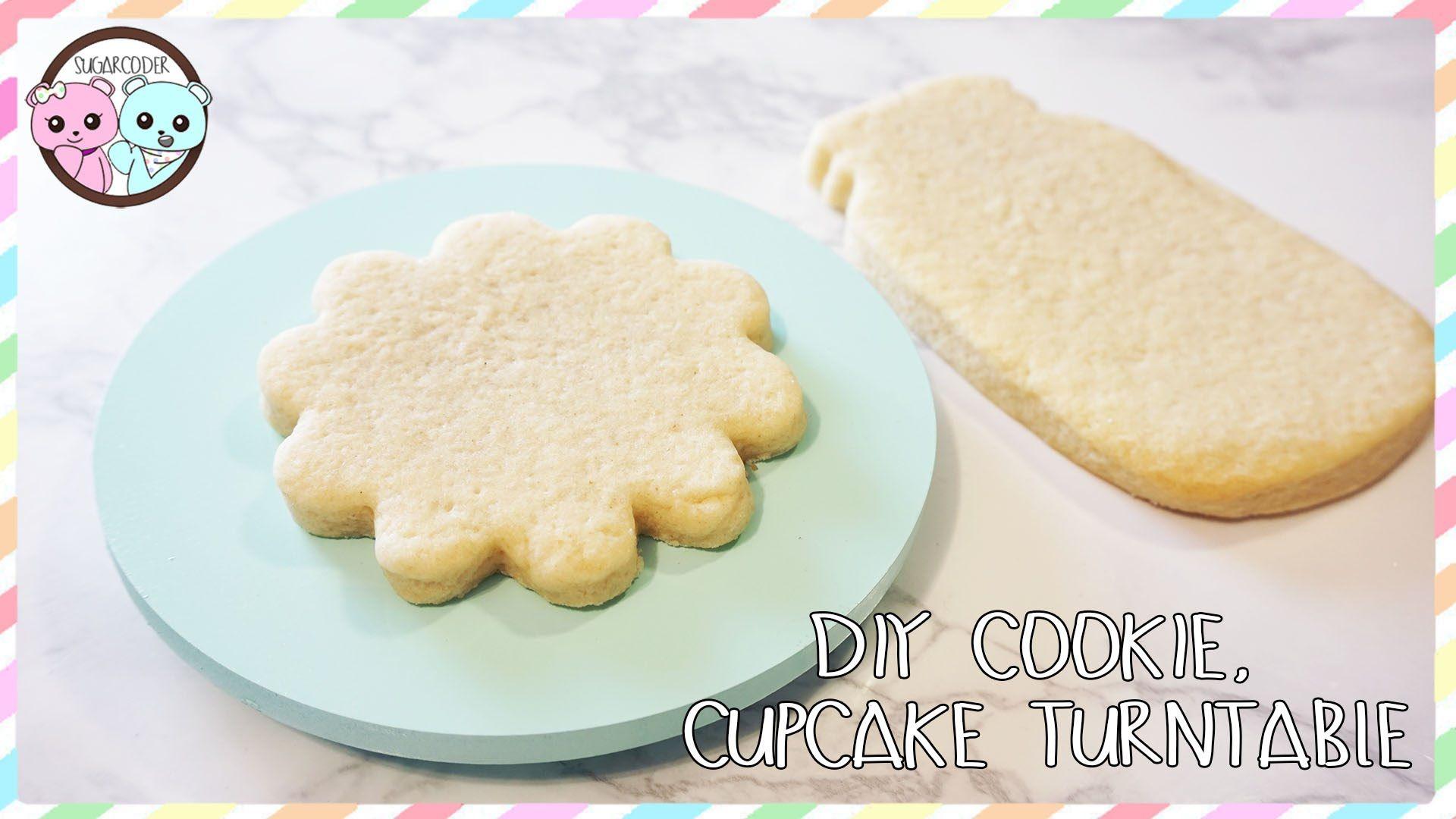Mini Cookie Turntable Baking Tools Cookie Making Supplies Mini Cake Turntable Cookie Decorating Supplies Cookie Decorating Turntable