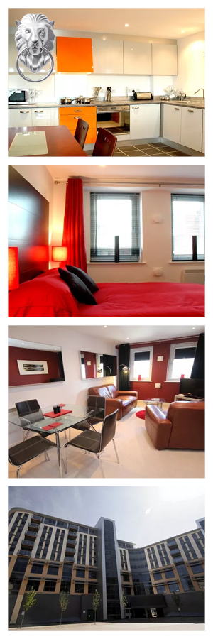 These Newcastle Serviced Apartments Are In The Exciting City Quadrant Area  Of The City, Within