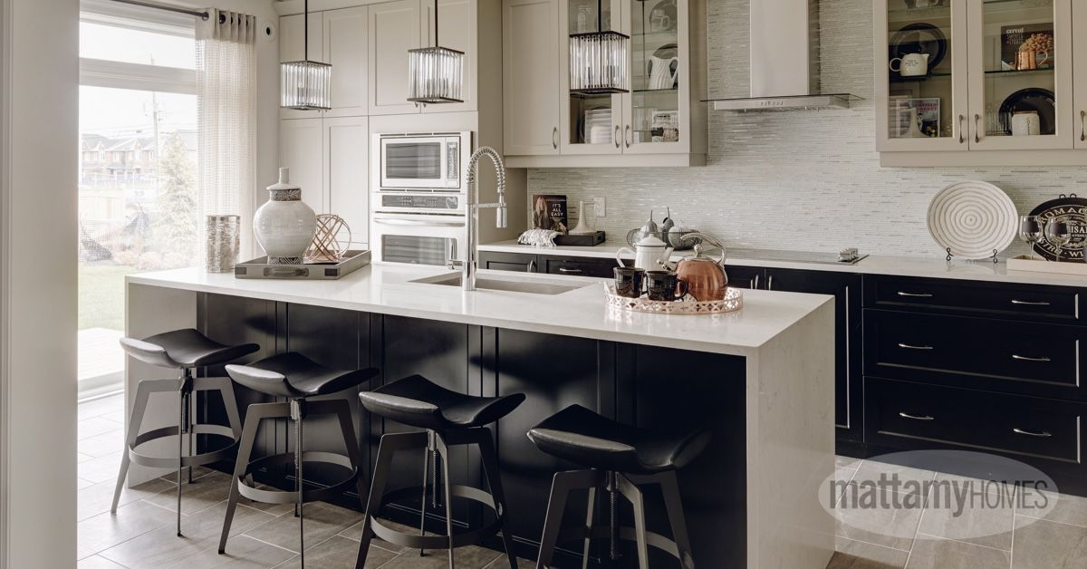 Just Like Salt And Pepper Dark And Light Cupboards Fit Together Perfectly In Your Kitchen Pictured Here The Sycamore M Home New Homes For Sale Home Builders