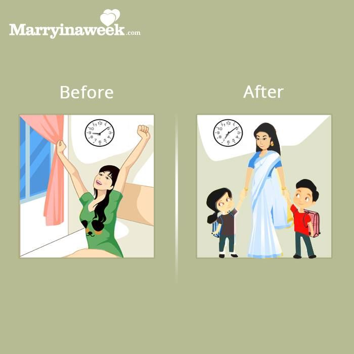 10 Changes In Life Of Indian Woman Before And After