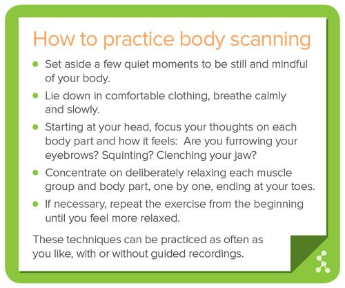 relaxation body scan