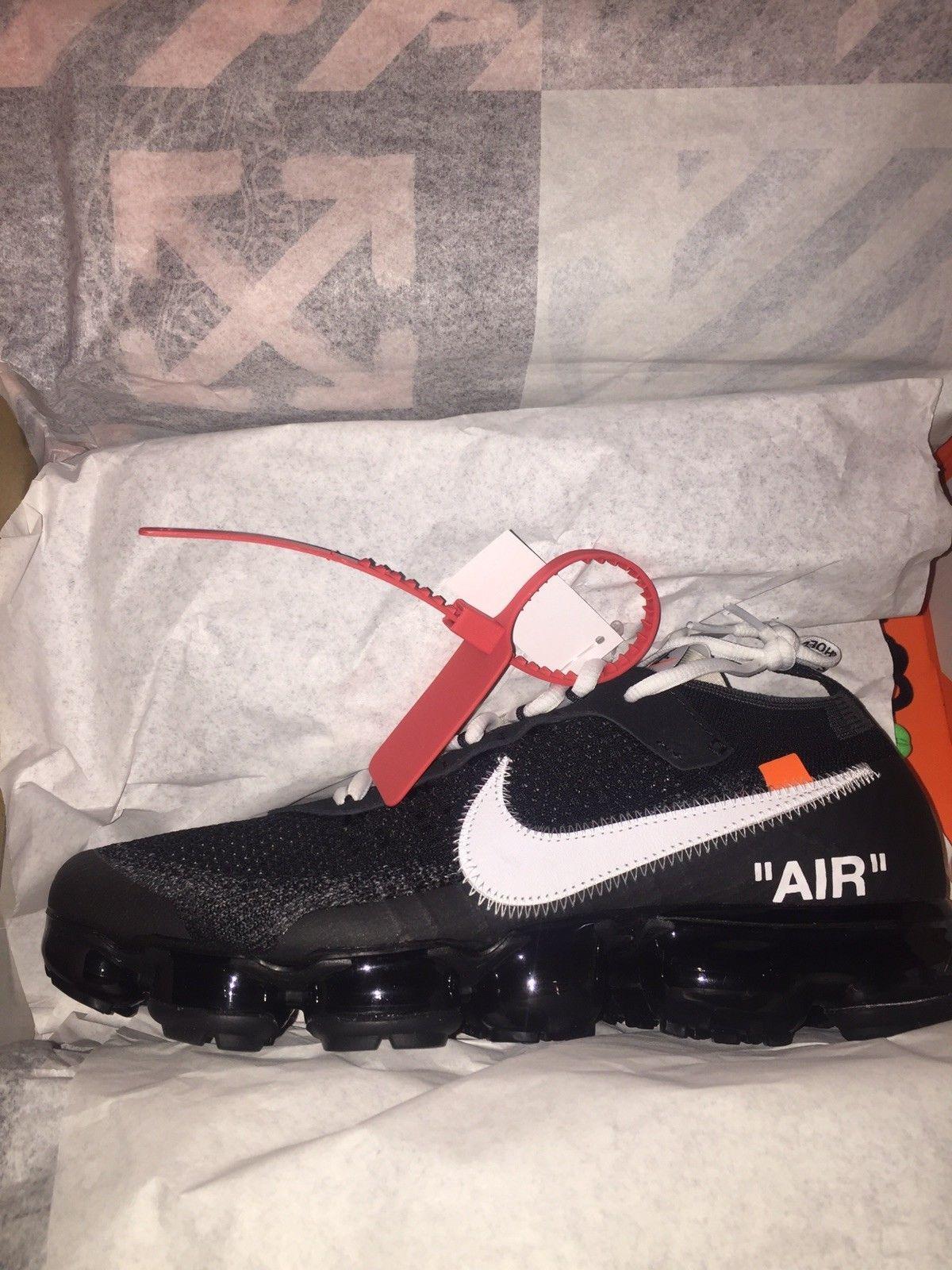 Nike Air Black Vapormax FK Off-White