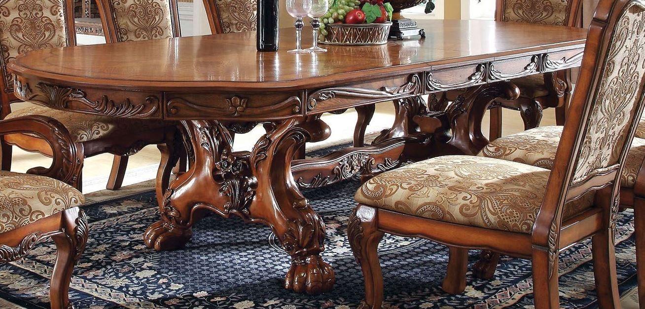 Medieve Antique Oak Rectangular Extendable Trestle Dining Room Set Formal Dining Tables Round Dining Room Sets Round Dining Room