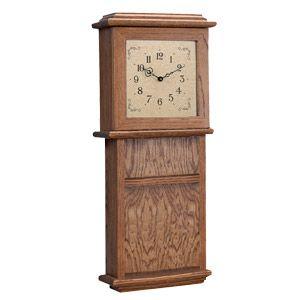 Clock Plans Shaker Woodworking Wall Clock Plan Klockit Clocks