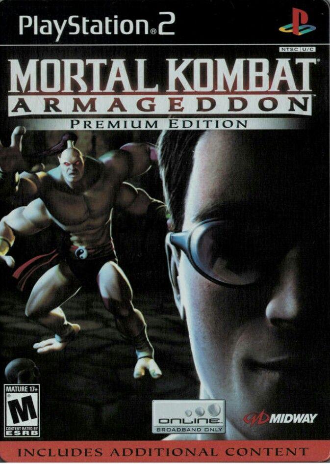 Mortal Kombat Kollection Game | PS2 - PlayStation