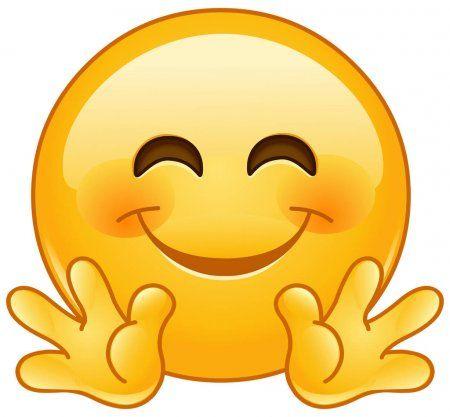 Smiley Umarmen