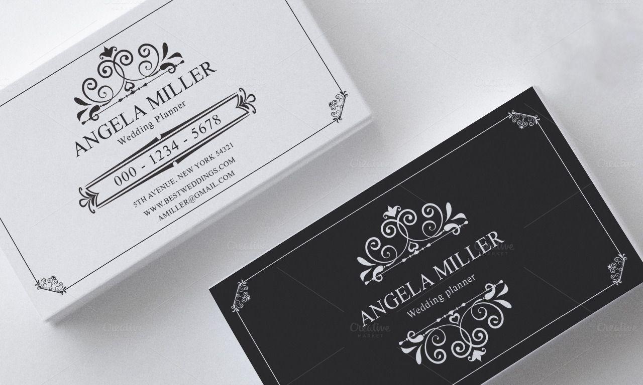 Elegant vintage business card - Business Cards - 1 | 6c. Art ...