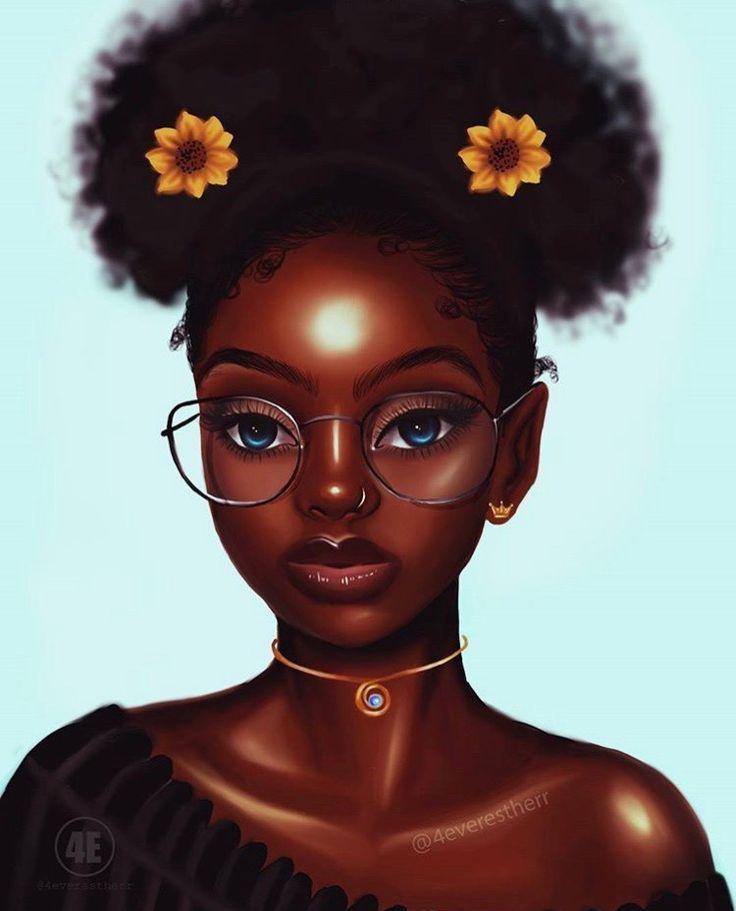 African American Wallpaper: Image Result For Melanin Cartoons