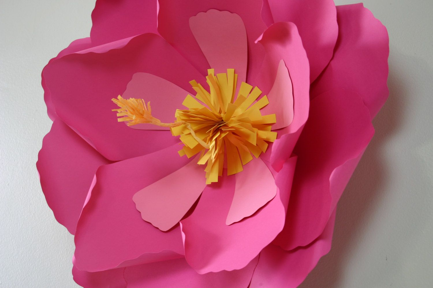 Hibiscus Paper Flower Giant Paper Flower Large Paper Flower By