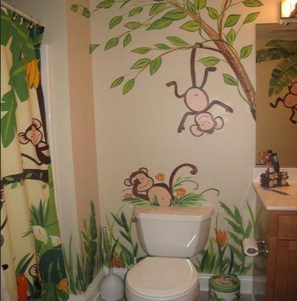 Funny Monkey Bathroom Décor Ideas | A New Home | Monkey ...