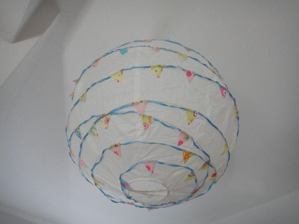 Diy Wimpel Ballon Lampe