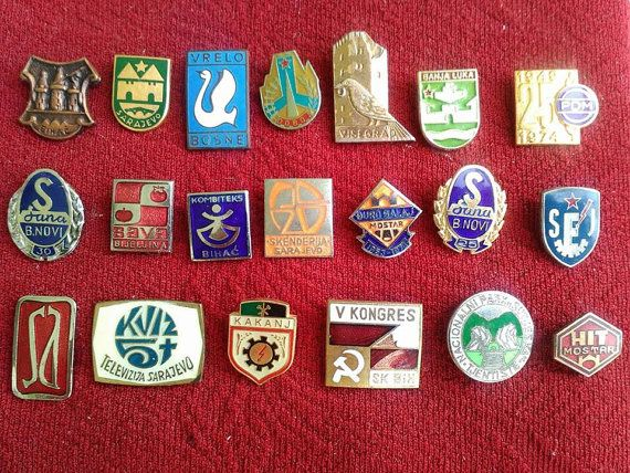 Vintage BETH Lapel Pin